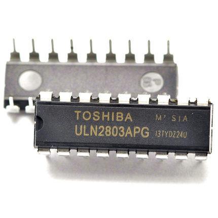 5Darlington transistor ULN2803APG belongs driver IC 2803 plug-in 18 feet - Elegant components store