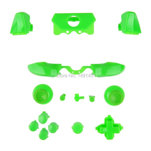 Solid Green ThumbSticks RT LT Triggers RB LB DPad ABXY Guide Buttons Mod Kit Xbox ONE 3.5mm elite Controller - Pro Gamer store