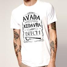 Unique Men Leisure Wear avada kedavrat shirt short sleeve with colors and sizes fashion avada kedavra t-shirt