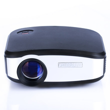 Full HD Portable C6 Pico Projector 45w LED 5000 Hours 1200 Lumens 204.5*157*85mm For U Disk Smart Phone PC Computer X-Box DVD(China (Mainland))