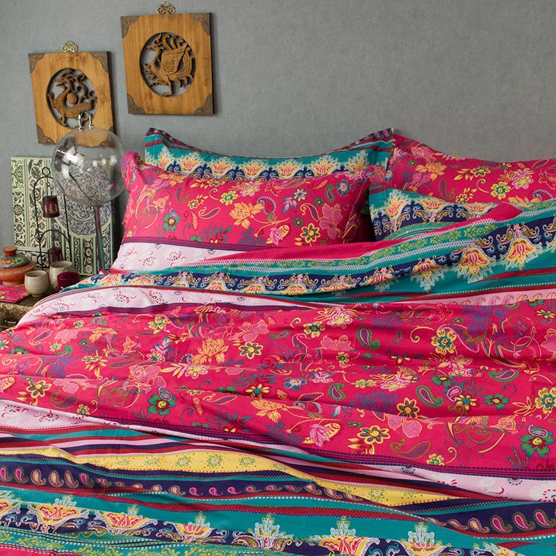 online kaufen gro handel vintage bettw sche aus china. Black Bedroom Furniture Sets. Home Design Ideas