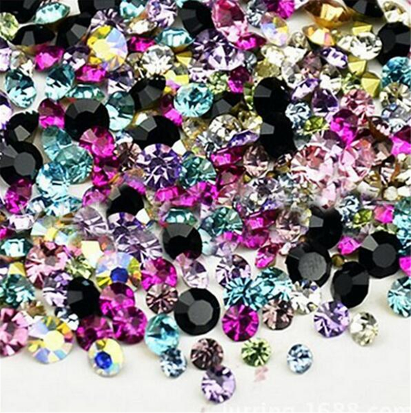 2500pcs/lot The Strass 3mm Rhinestones HotFix Flatback Strass Crystal For Dress Rhinestone Trim Stone Shoes Decor Acessories(China (Mainland))