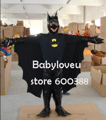 High quality Adult size Cartoon Mascot Costume batman cosplay halloween costume christmas Crazy SaleОдежда и ак�е��уары<br><br><br>Aliexpress