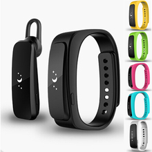 1pc New Smart watches band Bracelet Smart Wrist band Pedometer Bluetooth With Earphone Waterproof For Smartphone Hardware hot H4(China (Mainland))