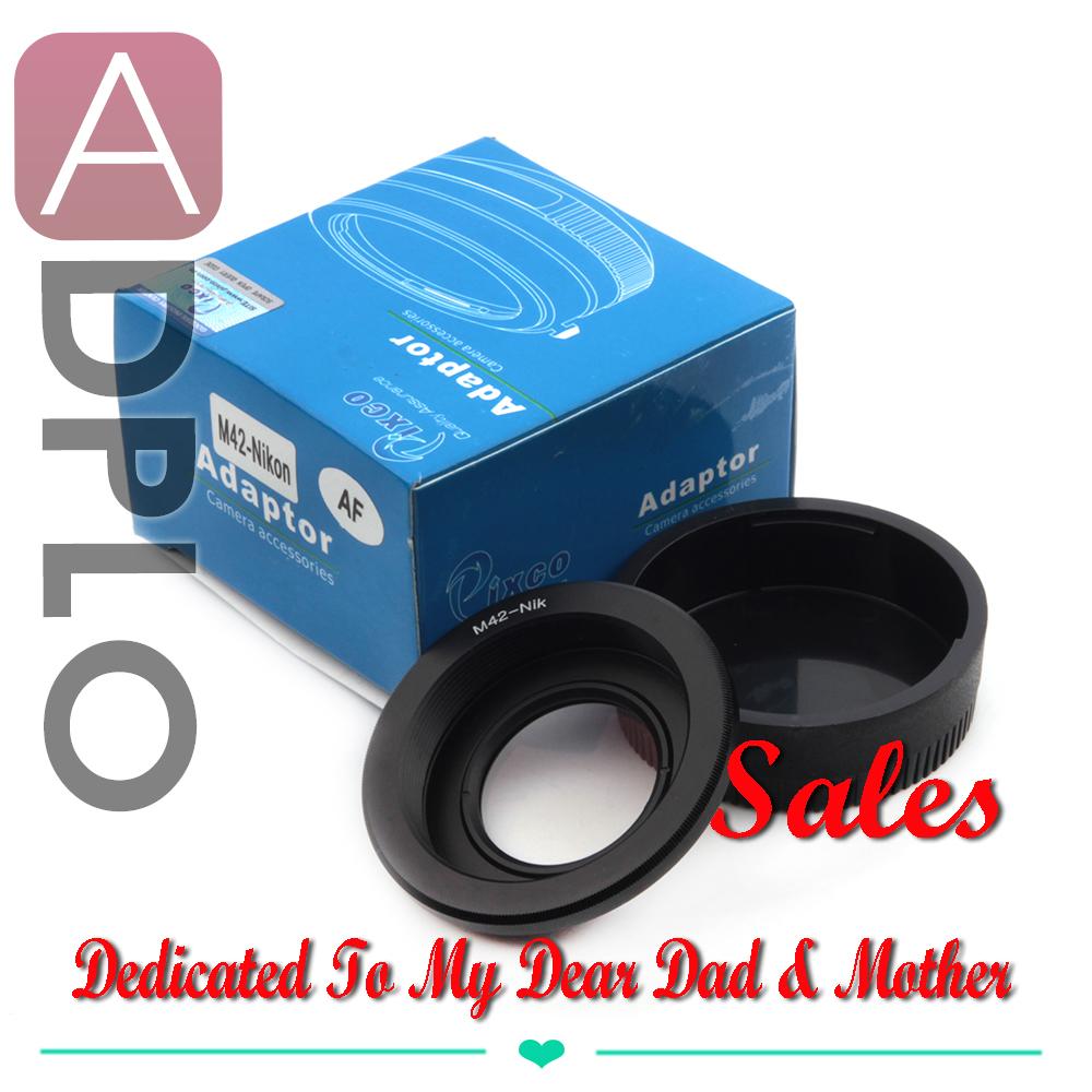 Pixco lens AF Confirm Adapter works For M42 Lens To Nikon Camera D7000 D90 D5200 D5100 D600 D4 D3200 D3100 D810(China (Mainland))
