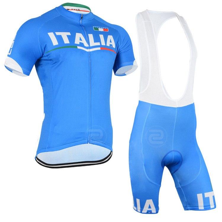 2015 %100 Polyester summer breathable cycling jerseys team ITALIA Short sleeve cloth MTB Ropa Ciclismo Bicycle maillot(China (Mainland))