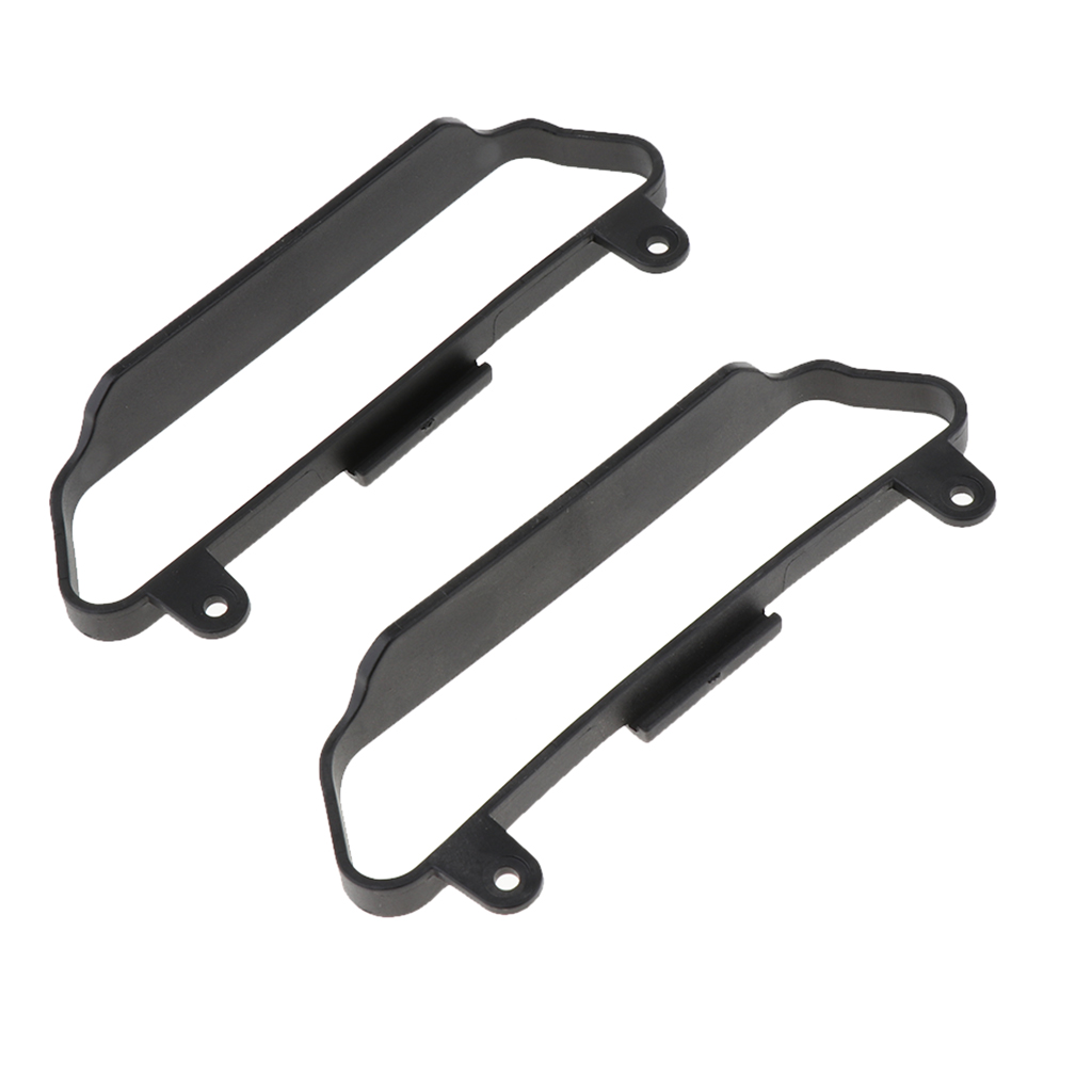 2pc 1/10 RC Car Chassis Side Bar Side Step Slider for Traxxas Slash 4x4 HQ727 RC Crawler Cars