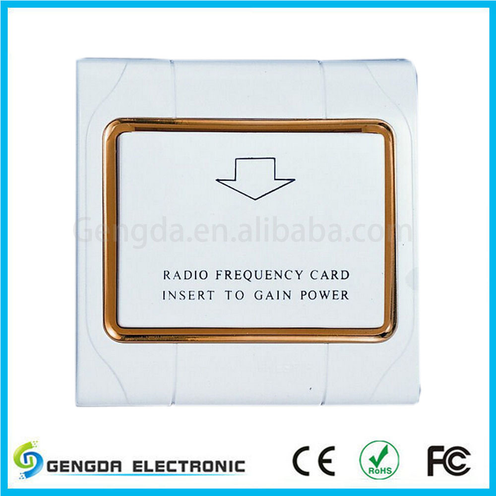 Electrical energy saver hotel Key Card Switch(China (Mainland))