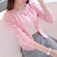 2016 autumn women's fashion cardigans thin slim cardigan sweater  7 colors free size cardigans  free shipping