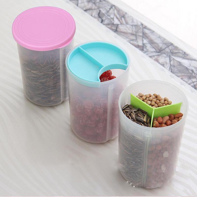 Food grain plastic storage box containers kitchen - Accesorios para cocina ...