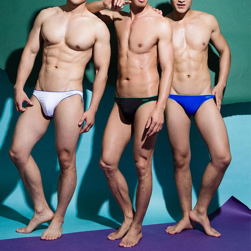 2016 new addicted sexy men's briefs underwear men slip homme sexy Jockstrap 5color M L XL male underpants(China (Mainland))