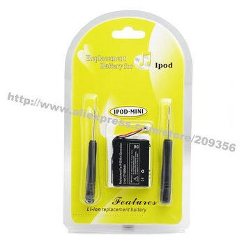 For iPod Mini Original replacement battery high quality high capacity Wholesale