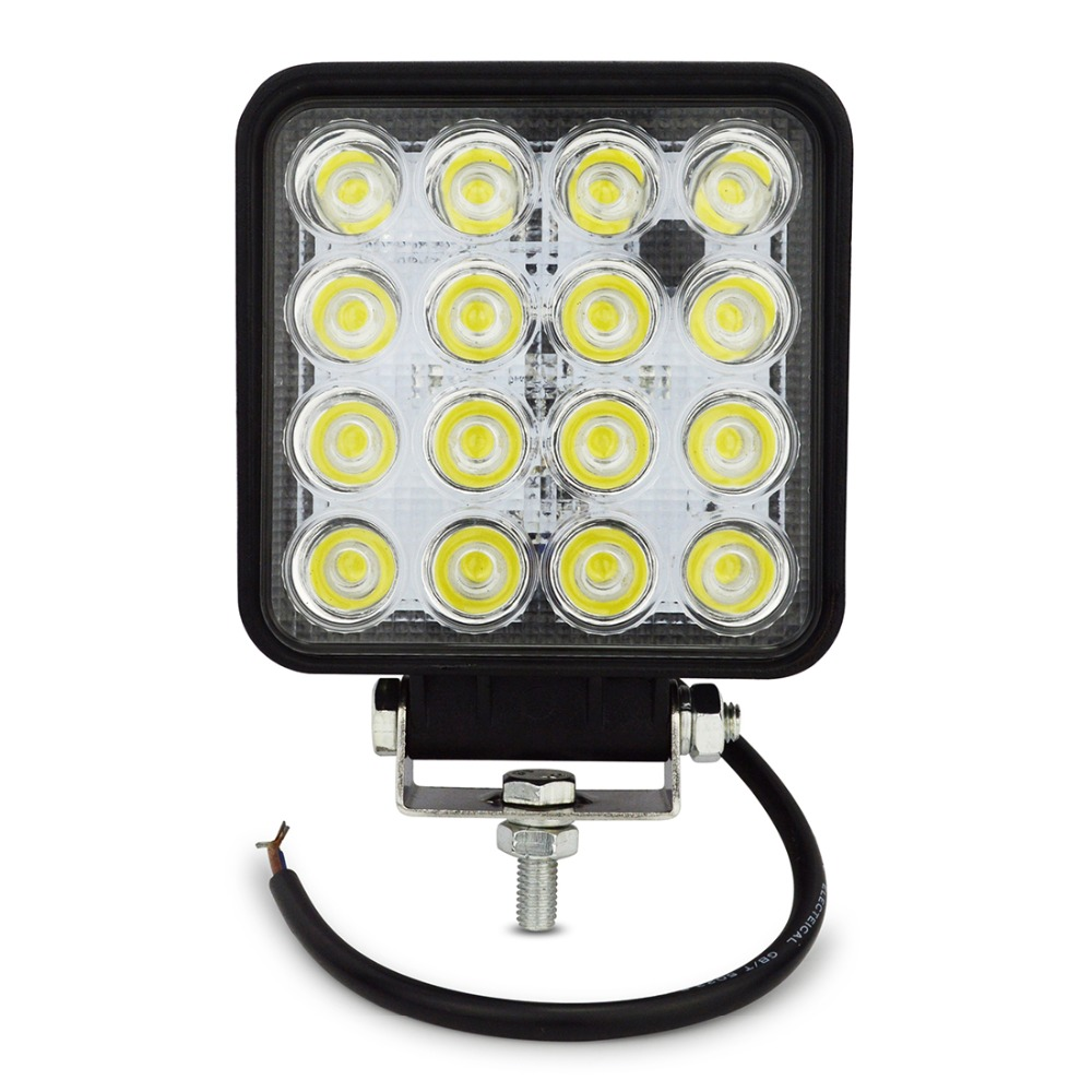 4INCH 48W LED WORK light 12V OFF ROAD 4X4 tractor TRUCK 24V MOTORCYCLE ATV offroad fog lamp 48W LED Working DRIVING LIGHT bulbs(China (Mainland))
