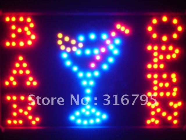 led100-r BAR OPEN Cocktails Led Neon Beer Light Sign Wholesale Dropshipping<br><br>Aliexpress
