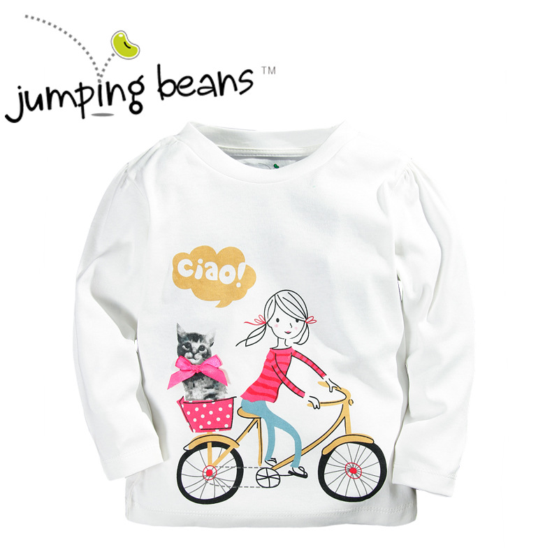 Free Shipping 6pcs/lot Jumping Beans Tees for 12M-5T Baby Girls <br><br>Aliexpress