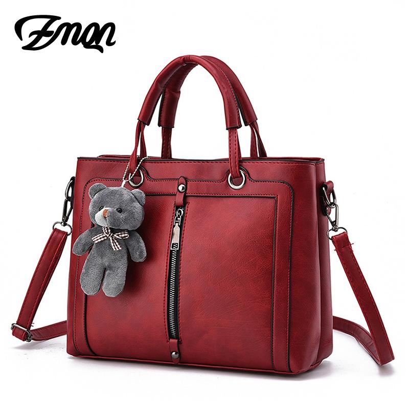 Luxury Women Leather Handbag Red Retro Vintage Bag Designer Handbags High Quality Famous Brand Tote Shoulder Ladies Hand Bag 703(China (Mainland))
