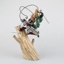 Anime Figure 25cm Kotobukiya ARTFX J Attack on Titan Levi Rivaille 1/8 Scale Pre-painted PVC Action Figure Toy Mode Collectibles