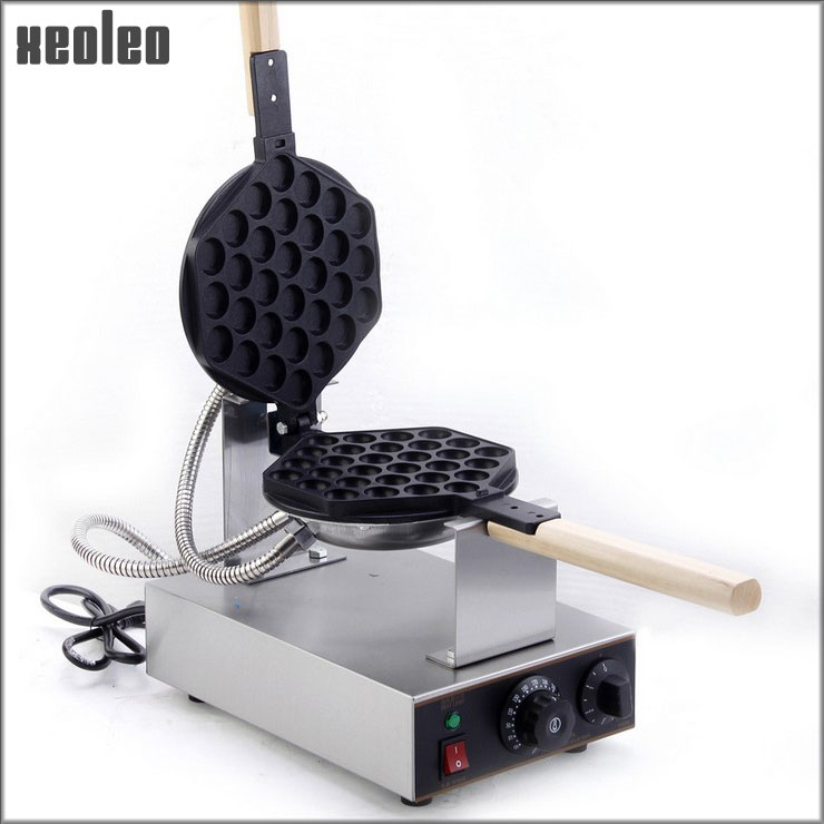 Xeoleo Stainless steel Egg Waffle Maker 220V High Quality Electric Waffle Machine 180 degrees Rotated HK QQ Egg waffle Machine<br><br>Aliexpress