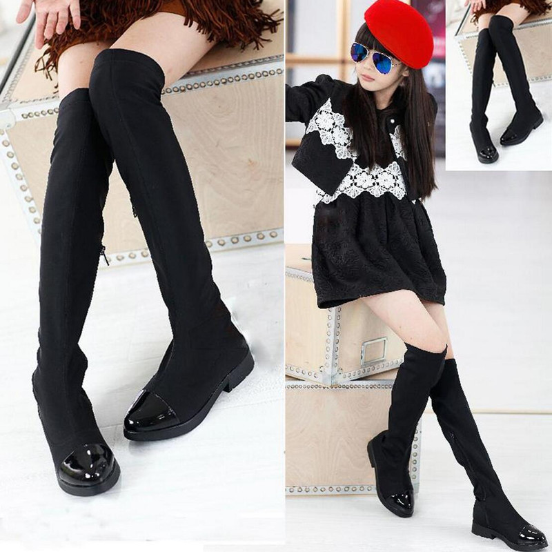 Kids Over The Knee Boots - Boot Hto
