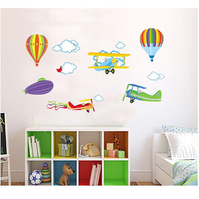 Comprar de dibujos animados avi n globos for Pegatinas de pared baratas