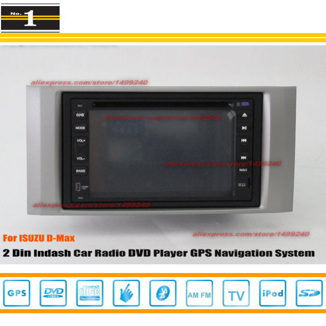 For Isuzu D-Max D Max 2009 ~ 2011 - Radio CD DVD Player & GPS Navigation System / Double Din Car Audio Installation Set(China (Mainland))