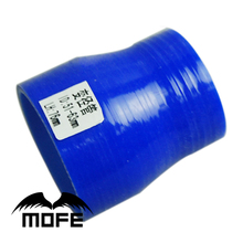 """Buy Mofe 5pcs Blue 3ply 2"""" 2.5"""" 51 63mm Silicone Reducer Coupler Hose for $8.48 in AliExpress store"""