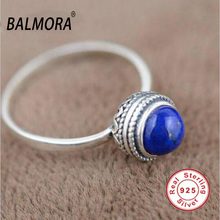 100% реального чистая стерлингового серебра 925 элегантный природные лазурит ретро кольца для женщин подарки любитель TRS20950(China (Mainland))
