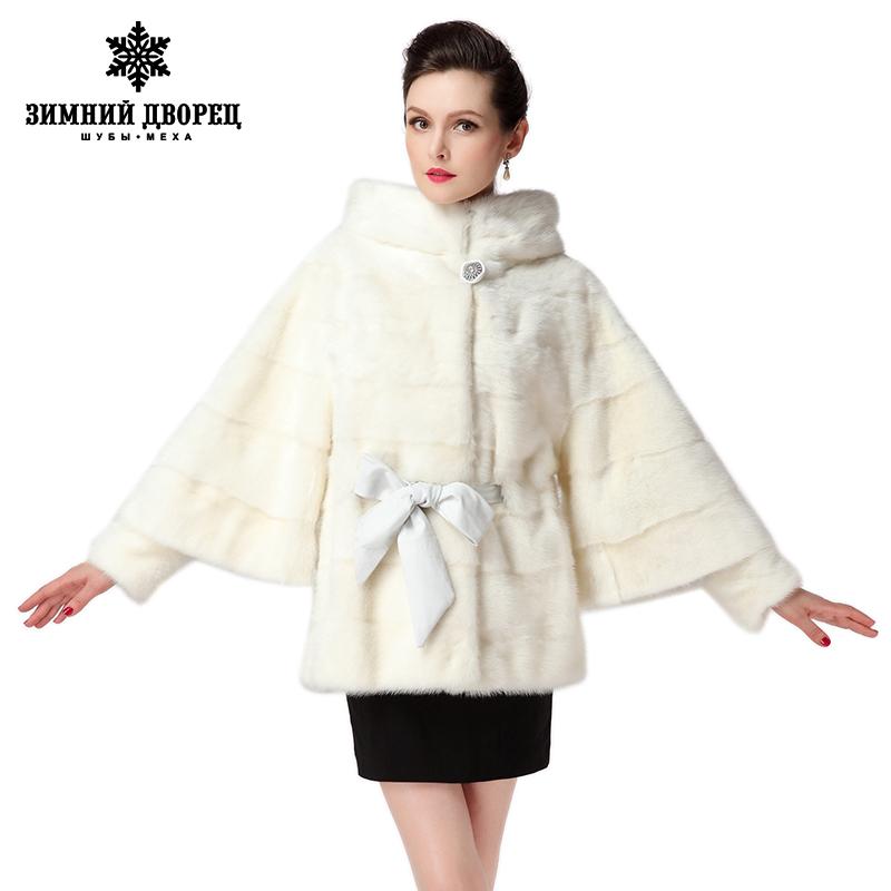 2016 Best Seller white fur coat,Genuine Leather,Bat Sleeved, Women brands mink fur coat, winter Fashion mink coat for women(China (Mainland))