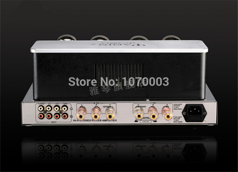 YAQIN MC-5881A Integrated Vacuum Tube Amplifier 5881Ax4 Ultra-linear Power Amplifier 2x23W 110V/220V Vacuum Tube Headphone Amp
