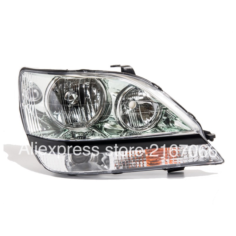 Headlights for TOYOTA HARRIER / LEXUS RX300 1997-2003 Right Passenger Side - CLEAR(China (Mainland))