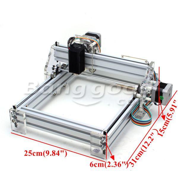 1500mW Desktop DIY Laser Engraver Engraving Machine Picture CNC Printer(China (Mainland))