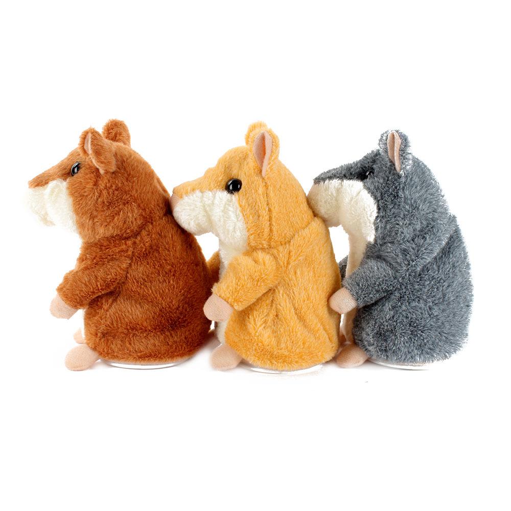 Детское электронное домашнее животное Unbrand  Electronic Hamster Plush domix green professional средство для снятия гель лака 1 л