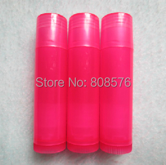 Makeup rose Transparent Lip Balm Tube,Cosmetic Lipstick Tube,Plastic Cosmetic Tube Packaging - MUSHINE SHINING store