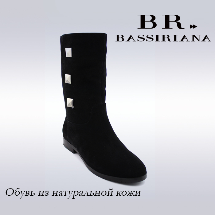 BASSIRIANA - women winter ankle boots, genuine suede boots, real fur boots, free shipping to Russia(China (Mainland))
