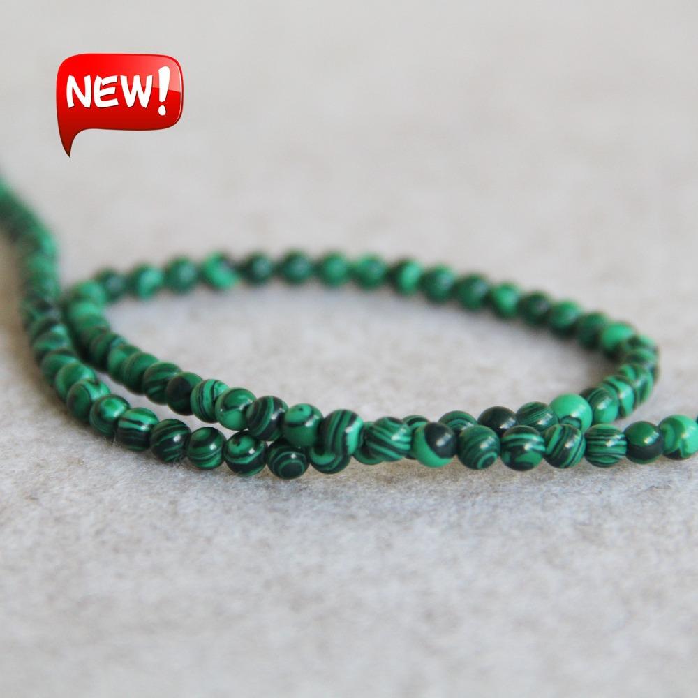 Здесь продается  (Min Order1) 4mm New Fashion Green Natural Azurite Stones Malachite Beads Jasper Beads DIY Jade 15inch Jewelry Making Design  Ювелирные изделия и часы