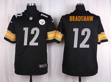 100% Elite men Pittsburgh Steelers WOMEN YOUTH KIDS HOT SALE NEW FAST SHIPPING 12 Terry Bradshaw(China (Mainland))