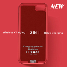 Buy TI-Chip NEW Qi Wireless Charger Receiver Case Cover 2 1 Phone Case Wireless Charging & Cable Charging iphone 7 6S 6 for $13.64 in AliExpress store