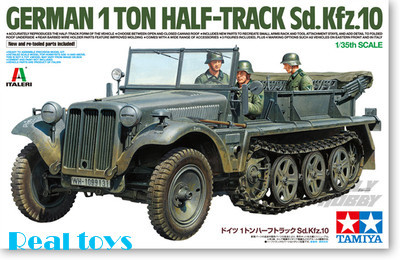 Tamiya model 37016 1/35 German 1T Half-Track Sd.Kfz 10 Plastic model kit<br><br>Aliexpress