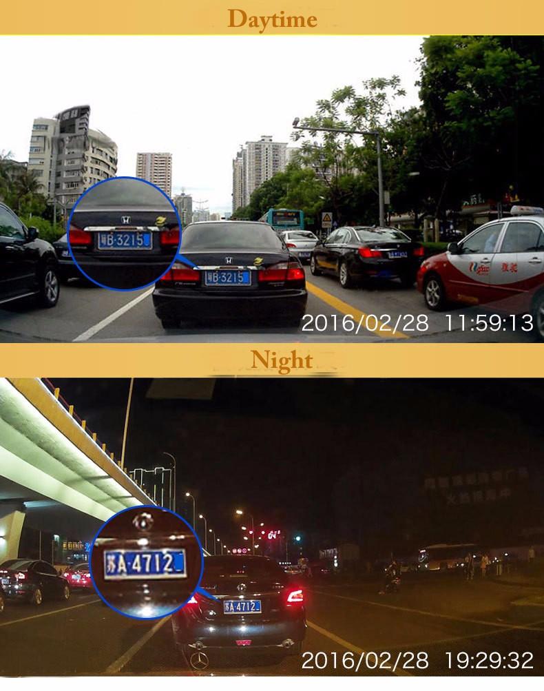 Купить Большой Объектив 2.7 Камеры Автомобиля Full HD 1080 P Рекордер Автомобиля DVR 140 степень Автомобилей Видеорегистраторы Тире cam Поддержка Камеры Заднего вида с Двумя объективами записи