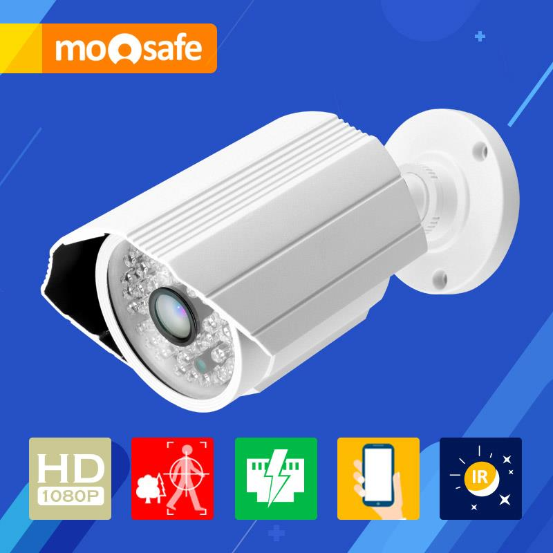 Mosafe 2mp PoE ip camera 1920*1080P Power Over Ethernet outdoor waterproof night vision Onvif Surveillance Cameras(China (Mainland))