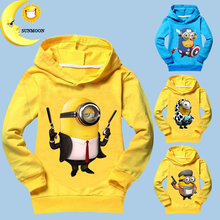 2016 new kids boys clothes girls t shirts cotton minions children clothing spring unisex tops & tees kids long sleeve t shirts(China (Mainland))