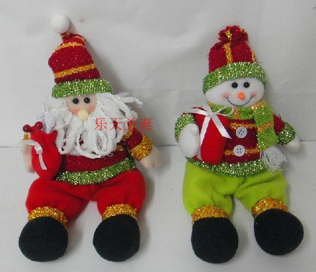 Min.order is $15(mix order) Hot Sale ! 2014 New Material Made Christmas Snowman Crafts,Gifts,Lovely Style X'mas Gifts