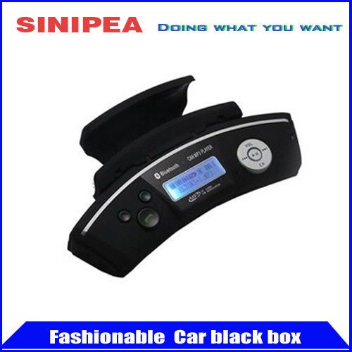 Steering Wheel Car Wireless Bluetooth Handsfree Kit + MP3 Player USB + FM Transmitter Radio Modulator with Car Charger(China (Mainland))