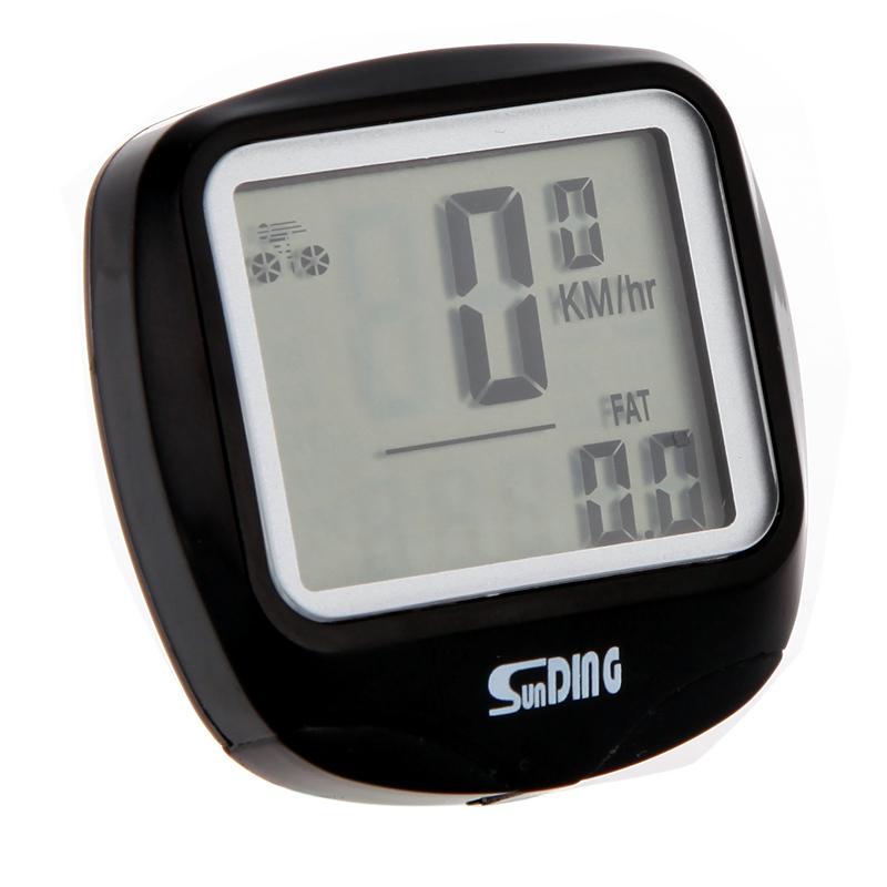 18 Main Functions Waterproof LCD Display Cycling Bike Bicycle Computer Odometer Speedometer H8902 Freeshipping Dropshipping(China (Mainland))