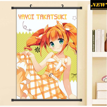 40X60CM THE iDOLM@STER Cinderella Girls Yayoi loli cameltoe cartoon anime wall picture cloth mural scroll poster canvas painting