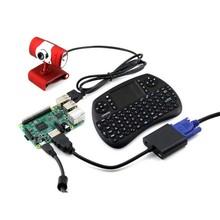 Raspberry Pi 3 Model B Development Kits + Camera + Wireless Keyboard + 8G Micro SD Card=Raspberry Pi 3 Model B Package C(China (Mainland))