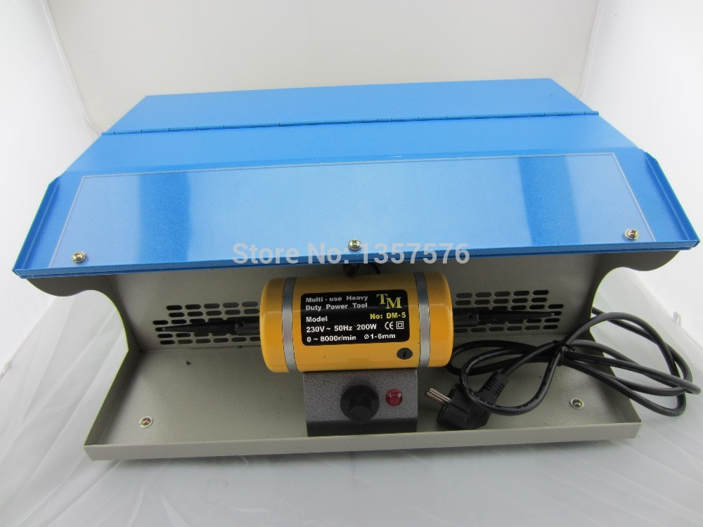 jewelry Polishing Motor with Dust Collector, mini table polisher(China (Mainland))