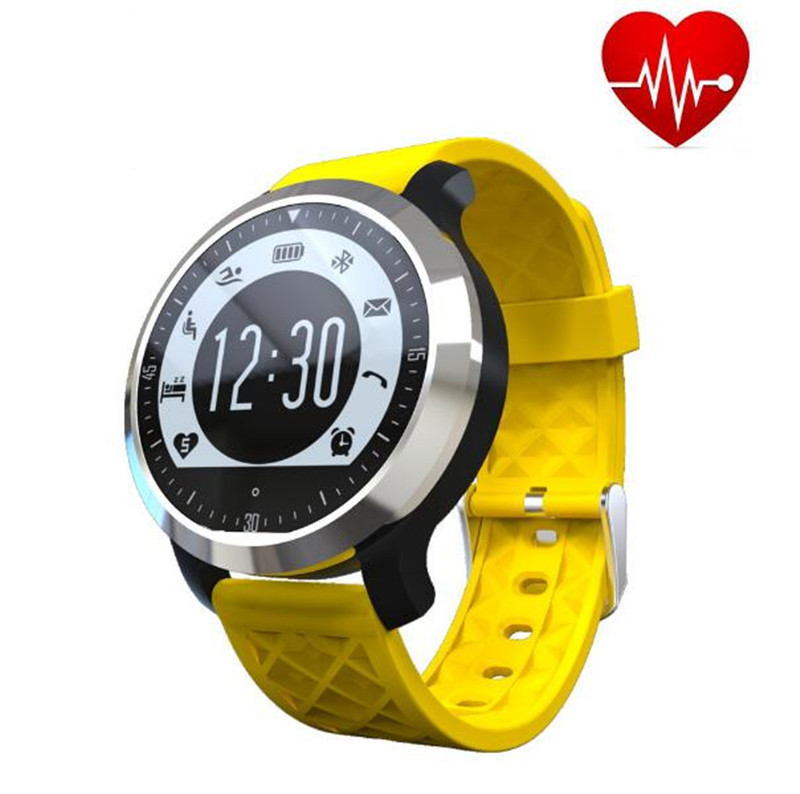 2016 New F69 Bluetooth Smart Watch Wrist Watch Men Sport Watch For Android Phone 0.3Mp Camera SIM+TF Card Slot 450Mah Battery