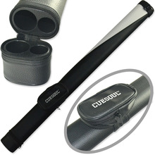 CUESOUL Two Tone Pool Cue Tube Case 1 Butt 1 Shaft Billiard Cue Canister For 1/2 Jointed Pool Cue Stick(China (Mainland))