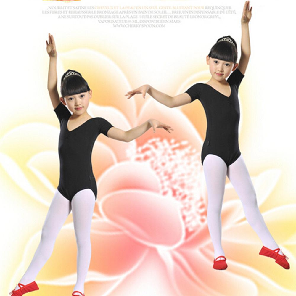 Child Girls Kids Solid Multicolor Slim Ballet Gymnastics Jumpsuit Leotards 3 12Y Free Shipping
